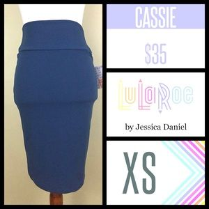 Lularoe Cassie Pencil Skirt NWT